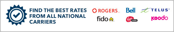 Find the best rates from all national carriers