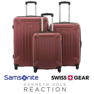 SAVE UP TO 75% on select luggage sets