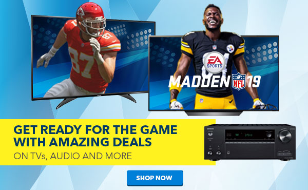 Get ready for the game with amazing deals