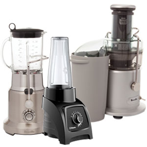 SAVE UP TO 30% on select blenders & juicers