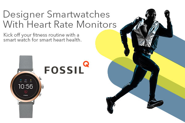 Designer Smartwatches With Heart Rate Monitors