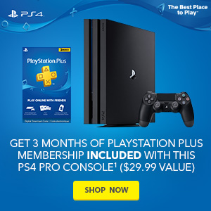 Get 3 months of PlayStation Plus Membership free with this PS4 Pro console ($29.99 value)