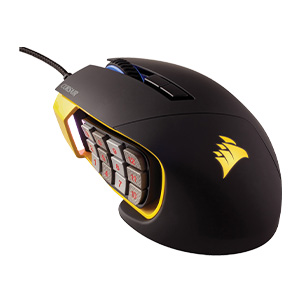 Corsair Scimitar PRO RGB 16000 DPI Optical Gaming Mouse
