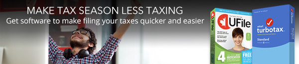 Make tax season less taxing - get software to make filing your taxes quicker and easier