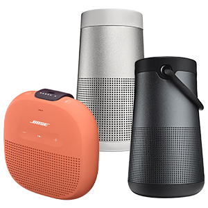 SAVE UP TO $70 on select Bose portable bluetooth speakers