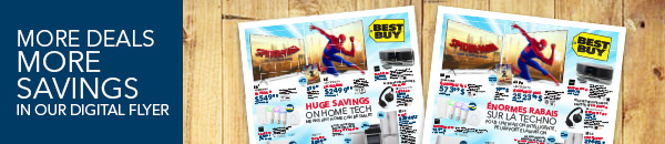 More deals more savings in our digital flyer