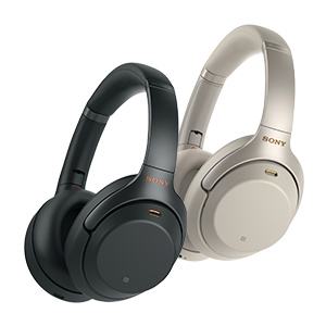 Sony Over-Ear Noise Cancelling Headphones (WH1000XM3/B)