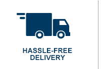 Hassle-free Delivery